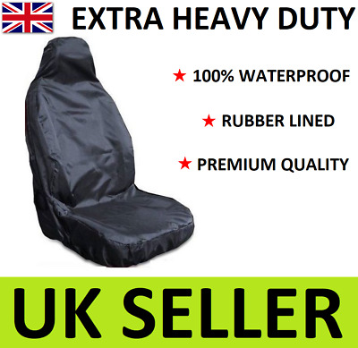 PEUGEOT 307 SW EXTRA HEAVY DUTY CAR SEAT COVER PROTECTOR x1 / 100% WATERPROOF