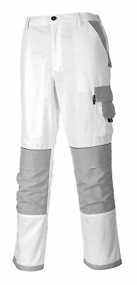 PORTWEST Painters Pro Trouser Safety Painting Decorating Knee Pad Pockets KS54