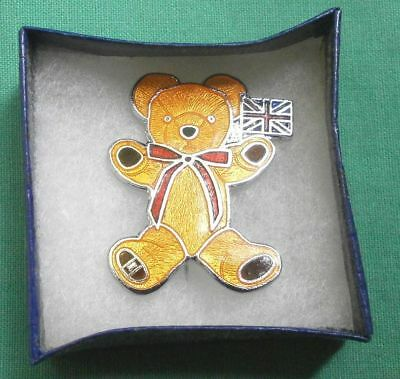 Merrythought, Bärenanstecker/ bear button/limited edition/Est. 1930/Bears