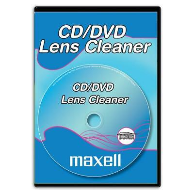 Maxell CD DVD Lens Cleaner for Computer Recorders Play Station Notebook Laptop