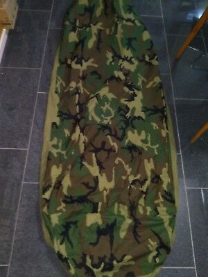 US Army MSS Schlafsack Bivy Cover Woodland Tennier