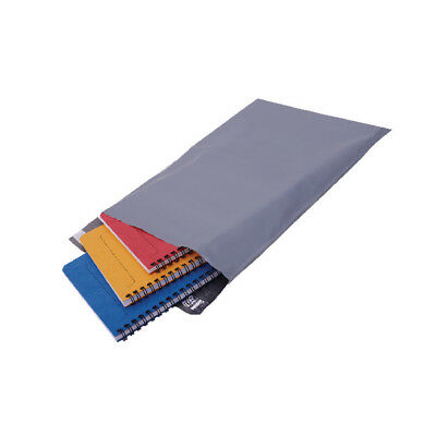 Polythene Mailing Bag Opaque Grey 235x320mm (Pack of 500) HF20220