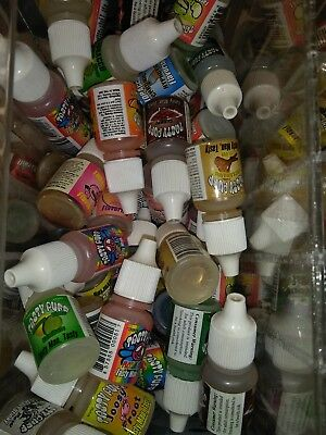 Tasty Puff Tobacco & Herb Flavoring Drops  Dropper Bottle lot of 3 assorted