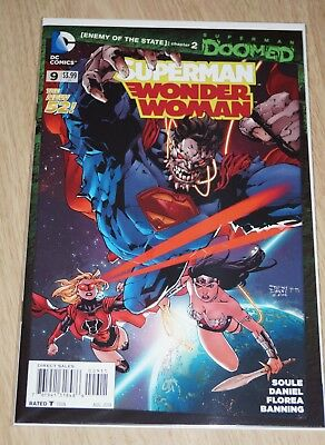 Superman/Wonder Woman #9 (DOOMED Event tie-in) DC Comics