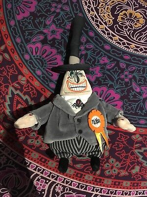 Disney Store The Nightmare Before Christmas Town Mayor Plush Soft Toy TNBC
