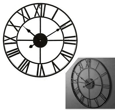 Small Medium Large Extra Large Outdoor Garden Roman Numerals Wall Clock