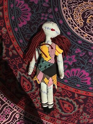 Disney Store The Nightmare Before Christmas Sally Ragdoll Plush Soft Toy TNBC