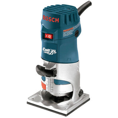 Bosch PR10E 1HP Colt Single Speed Electronic Palm Router New