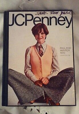 JC Penney - 1972 Fall and Winter Catalog Hardback