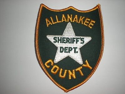 Allanakee County Iowa Sheriff's Department Patch