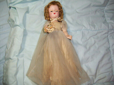 Vintage Madame Alexander Wedding Doll
