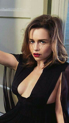 Emilia Clarke Celebrity Worn Wardrobe With Studio Coa