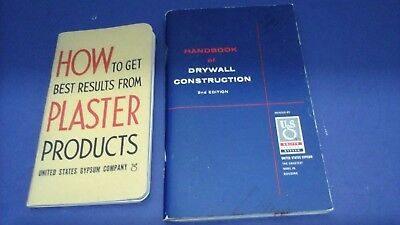 1939,1954 How Plaster,Handbook of Drywall