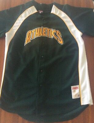Oaklands Althletics Baseball Supporters Jersey Size 2XL