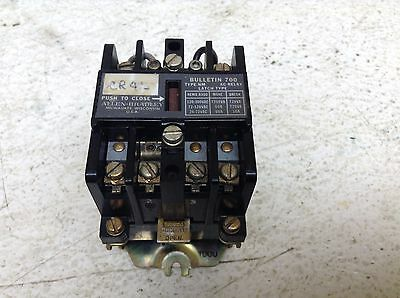 Allen Bradley 700-NM400A1 110-120 Volt Relay 700NM400A1 Type NM 700