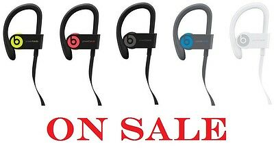 Apple Beats by Dr. Dre Powerbeats 3 Wireless Bluetooth Headphones various colors