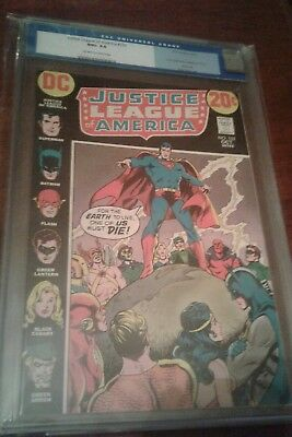 Justice League of America 102 CGC 9.6 ow/white