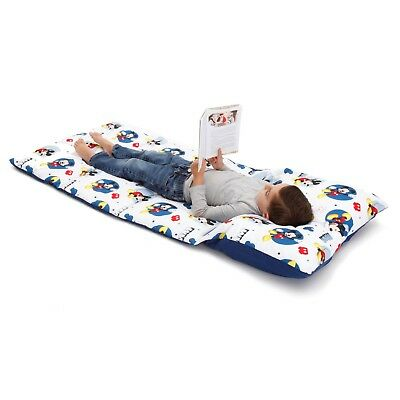 Disney Mickey  Mouse  Deluxe Easy Fold Toddler Nap Mat