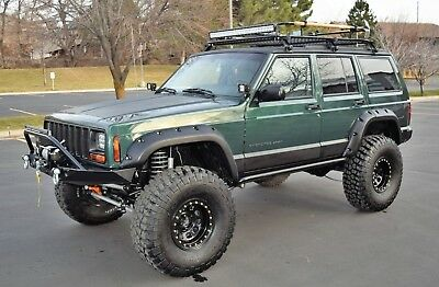 2001 Jeep Cherokee Sport LIFTED 2001 Jeep Cherokee XJ Sport 4-Door 4.0L I6 4x4 - FULLY BUILT ROCK CRAWLER