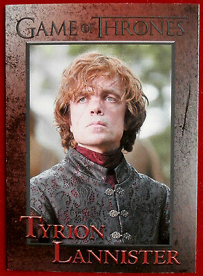 GAME OF THRONES - Season 4 - Card #34 - TYRION LANNISTER - Rittenhouse 2015