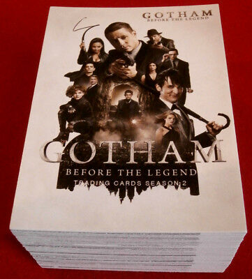 GOTHAM - Season 2 - COMPLETE BASE SET (72 trading cards) - Cryptozoic 2017