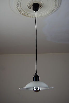 STILNOVO Pendant Light Italy Colombo Panton Space Age Vintage 60s 1970s 80s Era