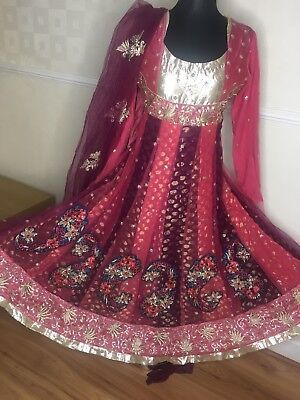 ladies asian party wedding wear dress