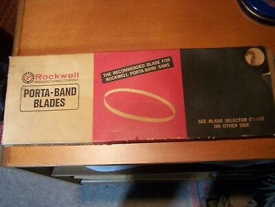 ROCKWELL Porta Band Saw Blades (3) 31YMS NOS