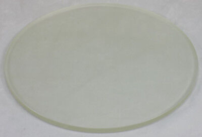 "LARGE PLATE GLASS DISC - ABOUT 19 1/4"" DIA. x 5/8"" THICK -SEMICONDUCTOR GRADE"