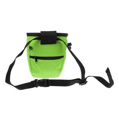 Outdoor Mountain Rock Climbing Recycle Chalk Bag Antiskid Waterproof AU