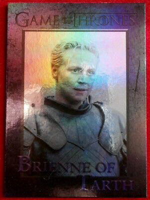 GAME OF THRONES - BRIENNE OF TARTH - Season 4 - FOIL PARALLEL Card #42