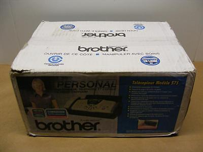 NEW Brother FAX-575 Plain Paper Fax, Phone, Copier