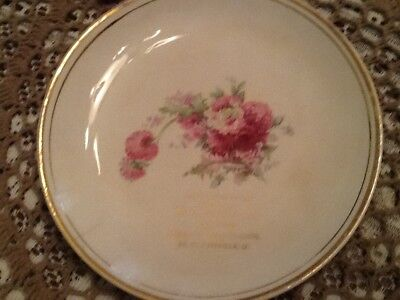 Vintage Grocers Adv. Plate-St. Clairsville, Ohio-W. D. Cochran-Staple & Grocer