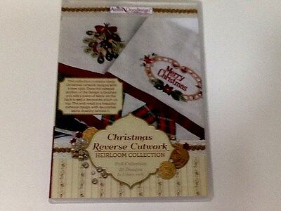 Anita Goodesign New 229Aghd Christmas Reverse Cutwork  Machine Embroidery Cd