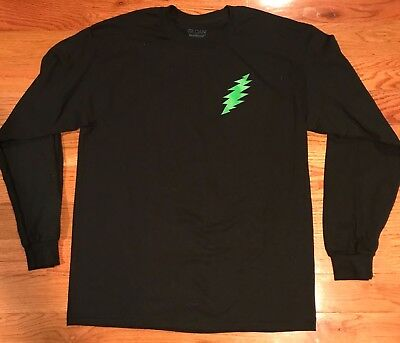 Grateful Dead (L) long sleeve shirt Jerry Garcia Dead and CO. Phish original