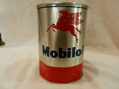 Mobiloil Can - Aluminum - Full