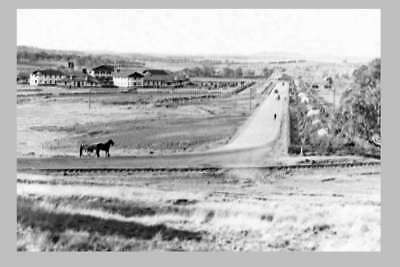 Canberra Commonwealth Ave - State Circle construct c1927 modern digital Postcard