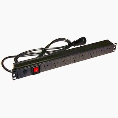 Power Distribution Unit For Cabinet  8-Outlet Horizontal