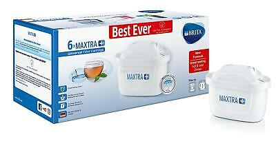Brita Maxtra+ Water Filter Cartridges, MicroFlow Technology, Pack of 6, White