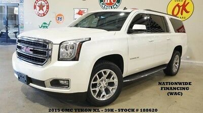 2015 GMC Yukon SLT Sport Utility 4-Door 15 YUKON XL SLT 4X4,ROOF,NAV,REAR DVD,HTD/COOL LTH,20'S,39K,WE FINANCE