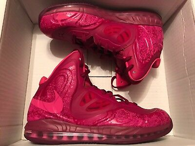 sports shoes 6c46f 09e0d ... Nike Air Max Hyperposite Raspberry Red Pink Foil Rave Pink Size 13 Used  Once DS ...