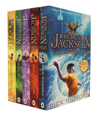 Percy Jackson x 5 Book Series Collection Box Set