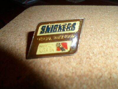 Collectable Snickers Badge.[Pin]