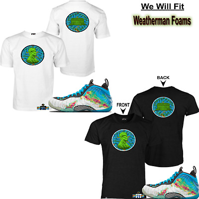 f1494ab62697 WeWillFit shirt match Air Foamposite One PRM Weatherman Thermal all star  galaxy