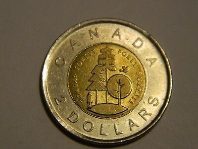 2011 Canada $2 Toonie Canada Parks Boreal Forest   ---- Lot #98