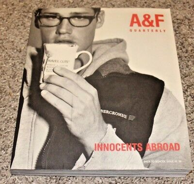 Abercrombie & Fitch Back To School Issue 99 Innocents Abroad A&f Bruce Weber