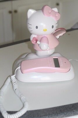 Hello Kitty Angel in the clouds phone by Sanrio, collectible, landline