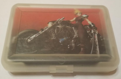 RARE MINT OOP Final Fantasy VII 7 Poker Playing Cards Full Set w/Plastic Case