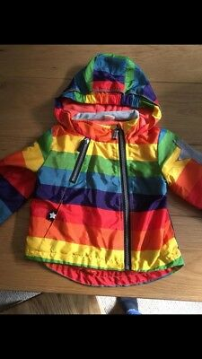 age 18-24 rainbow waterproof jacket