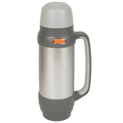 Camp Gear Isolierte Thermosflasche Kanne Isolierflasche 1 L Edelstahl 7302524